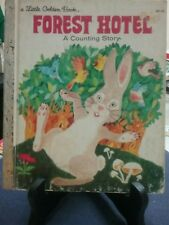 FOREST HOTEL Little Golden Book 1982 H/C VGC