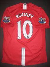 2006-2008 Nike Manchester United Wayne Rooney Jersey Shirt Kit Maglia England