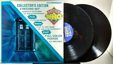 Doctor Who Collector's Edition 2 Record Set w/45 and Poster - MISSING PHOTOS
