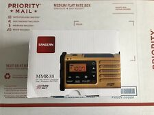 Sangean MMR-88 FM / AM / Weather / Handcrank / Solar / Emergency Alert Radio New