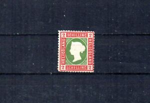BRITISH HELIGOLAND.  1867-68 SCOTT# 3.  QUEEN VICTORIA. CEDED TO GERMANY IN 1890