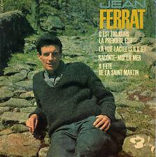 JEAN FERRAT C'EST TOUJOURS LA PREMIERE FOIS FRENCH ORIG EP ALAIN GORAGUER