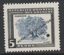Uruguay 4885 - 1954 ombu Arbre 5p De L'ImprImante échantillon