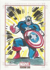 Marvel Bronze Age - SKETCH of Captain America by APRIYADI KUSBIANTORO