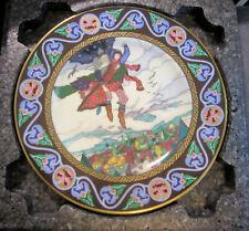 1983 Villeroy & Boch The Russian Fairy Tales Koshchey Carries Maria Morevna 8119
