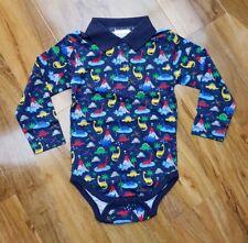 0d4e77fd26a7 Jojo Maman Bebe Baby Boys Poloshirt Printed Bodysuit RRP £12 03 mnths -  3yrs NEW