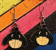 EEYORE Earrings Disney Winnie the Pooh Friends Surgical New Donkey