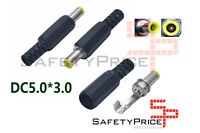 2x Conector alimentacion Macho DC Jack 5,0mm x 3.0mm aereo 5.0x3.0mm Samsung SP