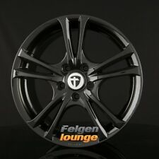 4 Alufelgen TOMASON EASY Black Painted 7,5x17 ET42 5x108 ML73 NEU