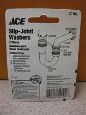 """ACE Hardware Slip Joint Washers #40192  2 Pack 1-1/2"""" New Free Shipping"""