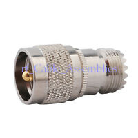 UHF PL-259 male plug to UHF SO-239 female straight RF adapter For Walkie Talkies