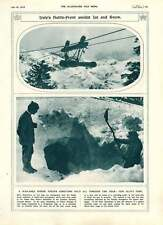 1916 Italian Alpine Isonzo Front Winter Conditions