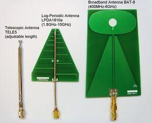 EMF RF Broadband Antenna Set 400MHz-10GHz for Cornet ElectroSmog ED85EX Meter