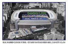 REAL MADRID C.F. ESTADIO SANTIAGO BERNABEU - LOOKS AWESOME FRAMED