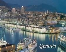 Italy - GENOVA #1 - Travel Souvenir Flexible Fridge Magnet