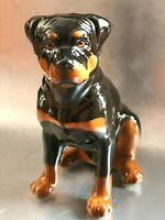 Rottweiler figurine dog Porcelain from Russia high quality