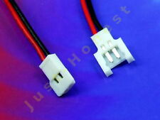 KIT BUCHSE+STECKER 2 polig / ways verdrahtet  Male+Female Connector wired #A628