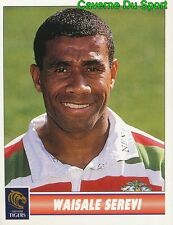 082 WAISALE SEREVI  LEICESTER TIGERS STICKER PREMIER DIVISION RUGBY 1998 PANINI