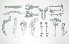 Lego ® Lot 17 Pièces Divers TOA Bionicle Silver Metal