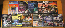 ROLAND USERS GROUP 11 Mag LOT 9 14 15 17 18 20 1 2 3 YES METALLICA KING CRIMSON