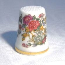 Royal Worcester China/Porcelain Collectable Sewing Thimbles