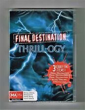 Final Destination Thrill-ogy Dvd (3-Movie Collection) 3-Disc Set New & Sealed
