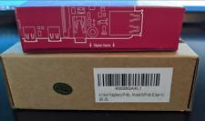 New Raspberry Pi 4 Model B (4GB RAM Version) with clear iUniker Case *NIB*