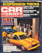 Vintage Magazine CAR CRAFT, July 1981 !!! HOW TO BUILD  A STREET MACHINE !!!