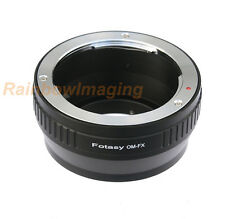 Olympus OM Lens to Fujifilm X-Pro1 X-Pro2 X-E1 X-E2 E-M1 X-A1 X-T1 X-T2 Adapter