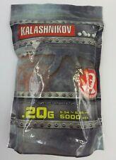 Airsoft KALASHNIKOV Swiss Arms Billes Sac de 5000BB's 0,20 GR neuf en stock