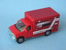 Matchbox Ford Ambulance Red Body Rescue Medic 058 Toy Model Car
