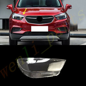 For Buick Encore 2017~2021 Right Side Headlight Cover Clear Pc + Sealant Glue