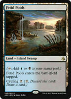 MtG x1 Fetid Pools Amonkhet - Magic the Gathering Card