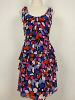 Marc by Marc Jacobs Women's Layered Silk Dress Sz S A18 ~Free AU Post!