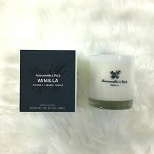 Abercrombie & Fitch Vanilla Almond & Caramel Candle Brand New