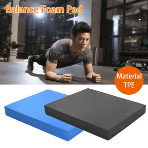 Travel For Physical Therapy Balance Foam Pad Exercise Mat Fitness Knee Soft TPE