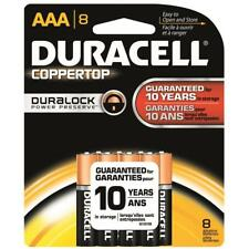 Duracell Coppertop Battery AAA 8 Pack