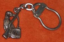 Porte-clés Key ring Chasse chien Fusil gibecière Vénerie gibier