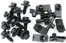"Ford Truck Body Bolts & Clips- 5/16-18 x 1""- 27/32"" Center to Edge- 20 pcs- #373"