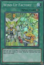 YuGiOh Wind-Up Factory - GENF-EN054 - Super Rare - 1st Edition Damaged