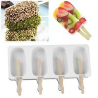 Frozen Ice Cream Mold Juice Maker Ice Lolly Mould -4 Cell supe X6J6
