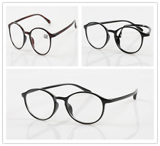 Hot  Men Women Round Reading Glasses Clear Lens Eyewear Eyeglasses 1.0 to 4.0