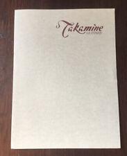 TAKAMINE GUITARS FOLDER