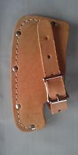 "Leather Sheath 5-1/ 2"" Single Bit Blade Kelly Perfect Jersey Pattern Top Grain"