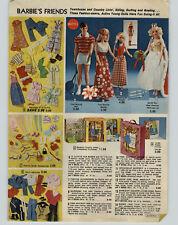 1975 PAPER AD Doll Barbie Ken Skipper Tiffany Taylor Polly Turner Curlee Walker