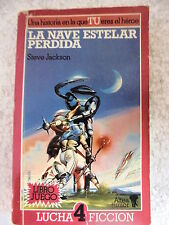 Lucha Ficcion num.4,La Nave Estelar Perdida,Ed.Altea 1989