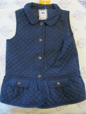 NWT 7 8 Gymboree Quilted Peplum Navy Blue Vest