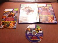 Microsoft Xbox 360 CIB Complete Tested Cabela's Big Game Hunter Hunting Party