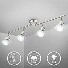 LED Deckenspot Wohnzimmer GU10 Metall Lampe Decken-Leuchte schwenkbar 4-flammig