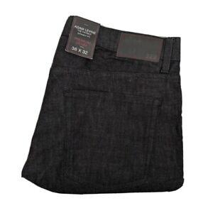 Adam Levine Men's Jeans Size 36x32 The Patriot Straight Fit Black Denim New